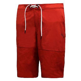 بوما رجال فيراري السباحة شورت جذوع الشاطئ الأحمر 569561 02