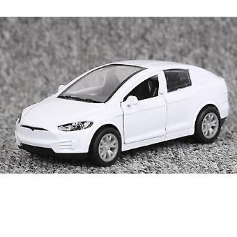 1:32 Tesla Alloy Car- Diecasts Vehículos Juguete