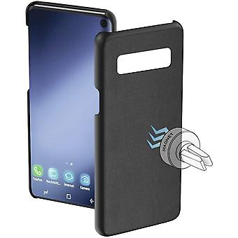 HamaMagnet Protective Case for Samsung Galaxy S10, Black