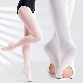 Soft Microfiber Convertible Ballet Dance Tights