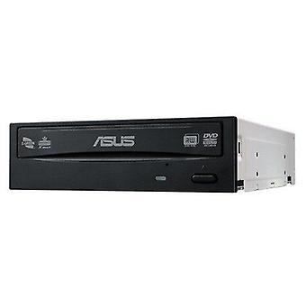 Asus drw-24d5mt dvd super multi dl preto unidade de disco óptico interno (preto, placa, vertical/horizonte