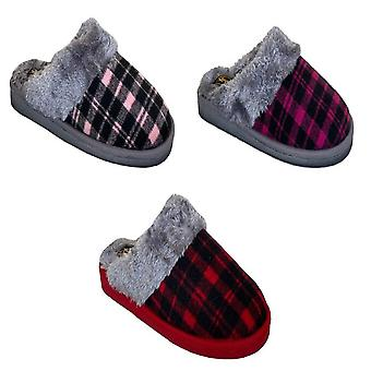 Sleepers Womens/Ladies Mia Tartan Slippers