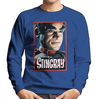 Stingray Commander Sam Shore Portrait Men's Sweatshirt