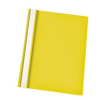 Rapid Flat File Polypropylene A4 Yellow Pack of 25