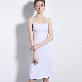 Ženy's Camisoles Full Slips šaty s ramenné popruhy dlhé pod šaty