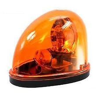 Ny magnetisk Teardrop Dc12v Roter Beacon Amber Advarsel Light Emergency Car