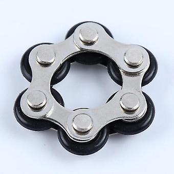 Bike Chain Fidget Spinner Bracelet