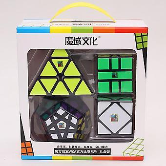 4kpl / aseta Magic Cube Mofang Jiaoshi Puzzle Educational