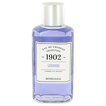 1902 Lavender Eau De Cologne By Berdoues 8.3 oz Eau De Cologne