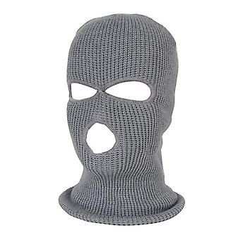 Full Face Cover 3 Gat Balaclava Knit Hat Army Tactical Cs Winter Mask