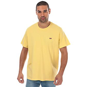 Men's Levis Original House Mark T-Shirt in Giallo