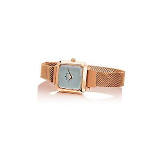 Watch Hoops Carre;Gold 2621l-rg05 Rose Gold Grey