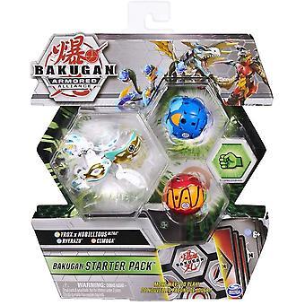 Bakugan Armored Alliance Starter Pack Trox x Nobillious