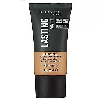 Rimmel Lasting Matte Full Coverage Foundation