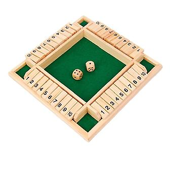 Sided Shut The Box Board