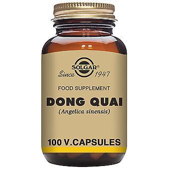 Solgar Dong Quai (Angelica sinensis) 100 Cápsulas