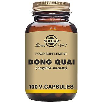 Solgar Dong Quai (Angelica sinensis) 100 Capsules