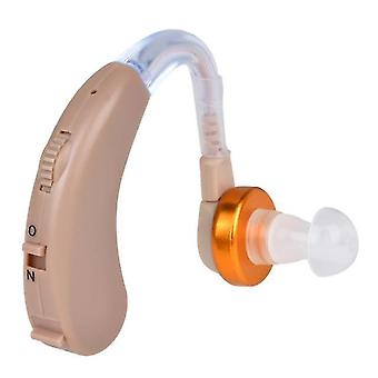 F-138 hörapparater batteri som drivs i öron hörselförstärkning enhet justerbar volym ljudförstärkare för äldre och vuxna