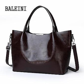 2019 الصيف نمط جديد المرأة حقيبة حمل حقيبة يد على الكتف كروسبودي الجلد العلامة التجارية الكبيرة السوداء البني مصمم عارضة أنثى bolsas