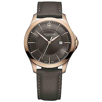 Victorinox alliance Watch for Analog Quartz Men with Rose Gold Bracelet V241908