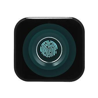 Älykäs avaimeton sormenjälkikaappi Lukko Biometrinen Sähkölukko Mini Kannettava Sormenjälkilaatikko Lukko Office-laatikon tiedostokaappiin