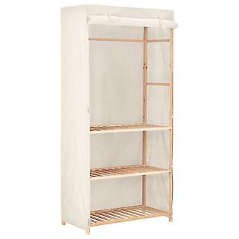 vidaXL garderobe med 3 niveauer 79 x 40 x 170 cm