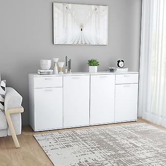 vidaXL Sideboard White 160×36×75 cm Chipboard