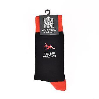 Chaussettes red arrows du patrimoine militaire