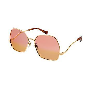 Gucci GG0972S 003 Kulta/Vaaleanpunainen Gradinet Aurinkolasit