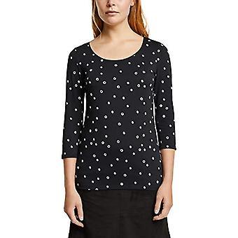 ESPRIT 080EE1K365 T-Shirt, 001/zwart, XL Dames