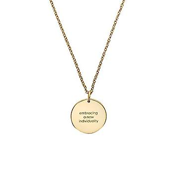 NOELANI Women's Pendant Necklace, sterling 925 Gold Plated Silver(4)