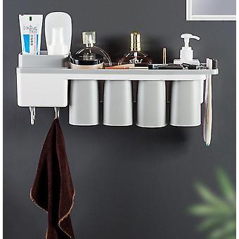 42cm Magnetic Bathroom Accessories Toothbrush Holder Toothpaste Dispenser Holder|Toothbrush Holder