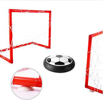 Soccer Ball Set With 2 Goal Kids's Indoor Electric Suspension Football Sports Toy