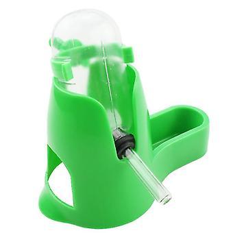 60Ml vihreä 3 in 1hamster muovinen kastelulaite, automaattinen ruokintalaite, ruokakulho, nukkuva pesä az4587