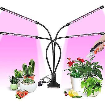 Kasvata valoa sisäkasveille 4 säädettävää hanhen kaulaa dt4369
