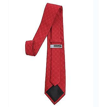 4Cm*6cm*8cm κόκκινο mens κλασικό κοκαλιάρικο υφασμένο λεπτή γραβάτα x5717