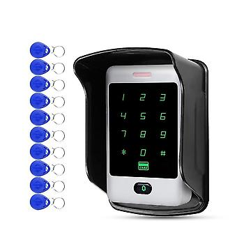 Rfid Standalone Touch Metal Access Control With 10 Keychains Cover For Door