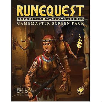 RuneQuest RPG Roleplaying in Glorantha: Gamemaster Screen Pack