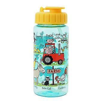 Tyrrell Katz New Farm Drinking Bottle With Straw