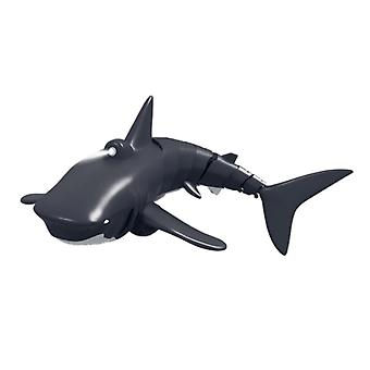 Remote Control Simulation Shark Toy 40m Waterproof With Light Diving Crashworthy Fall Resistant Good Ozone Resistance