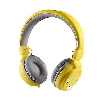 Kids Protective Earmuffs With Noise Blocking(Yellow)