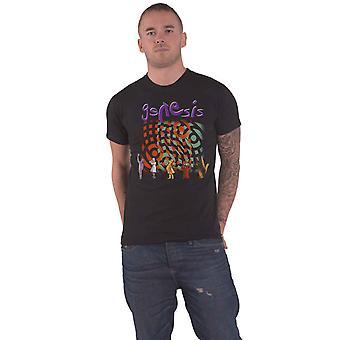 Genesis T skjorte album Collage bandets logo nye offisielle Mens svart