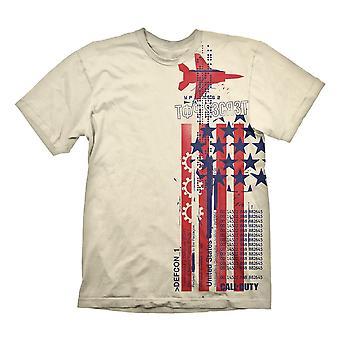 Call of Duty: Black Ops Cold War T-Shirt Top Secret Size XL