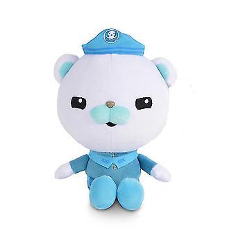 Kapitän Barnacles Bär die Oktonauten Plüsch Puppe Spielzeug U-Boot-Säule Kinder Geschenk 30cm