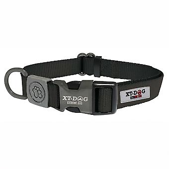 Xt-Dog Classic Nylon Collar Black (Dogs , Collars, Leads and Harnesses , Collars)