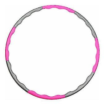 Складной хула-хуп (розовый)