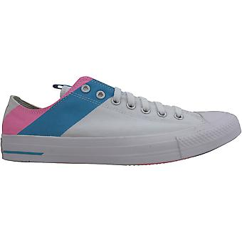 Converse CTAS Ox White/90s Rose/Gnarly Blue 167760C Homme