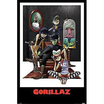 Cartel de Gorillaz 91,5 x 61 cm