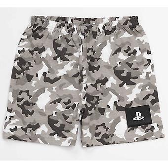 Playstation Boys Gaming Camo Kort Pyjamas Set