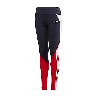 Sport Leggings for barn Adidas G BOLD TIGHT Navy / XL